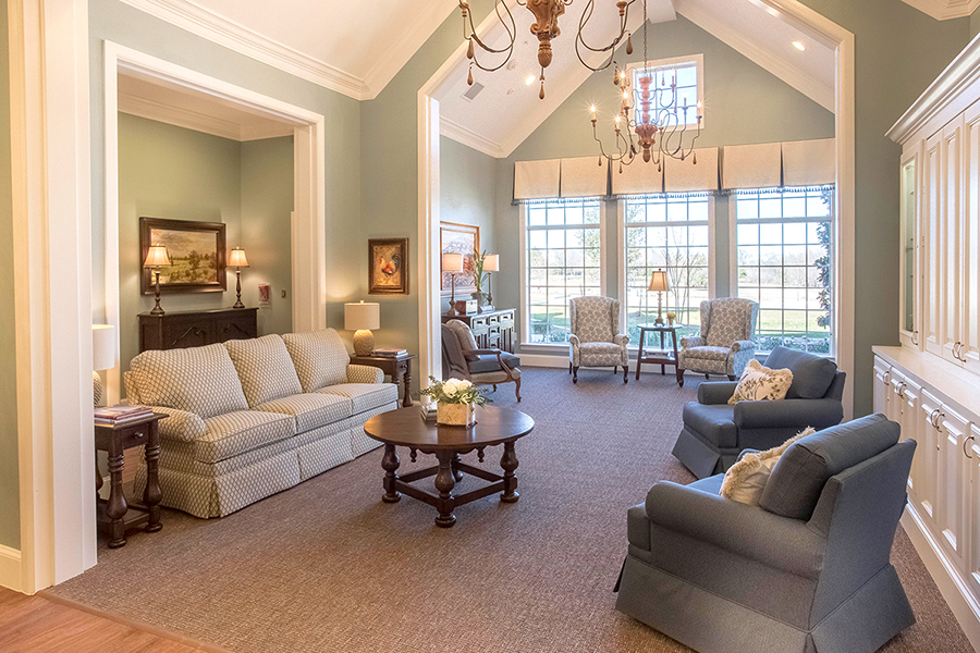 The Cottages at Chapel Creek Living Room